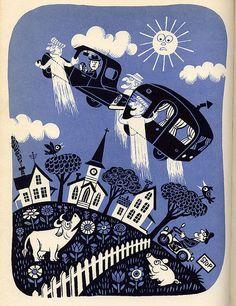 Jim Flora, I love his art.