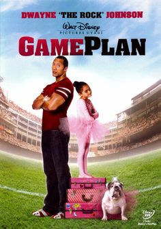 """The Game Plan Movie Starring Dwayne """"The Rock"""" Johnson and Madison Pettis - Disney - Buena Vista - Father Daughter Bond - So Cute"""