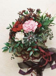 Garnet Wedding Ideas via oncewed.com