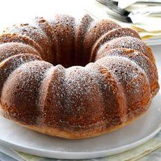 Buttermilk Pound Cake Recipe from Taste of Home