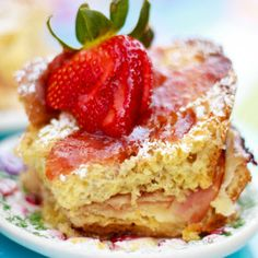 Monte Cristo Easter Brunch Casserole holiday, brunches, cristo easter, food, breakfast, brunch casserol, mont cristo, recip, easter brunch