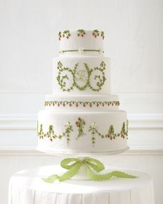 Home, Sweet Home  - the mother of all wedding cakes. From Martha Stewart