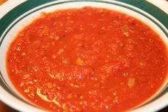 Tomato Basil Soup - Easy, yet full of flavor.