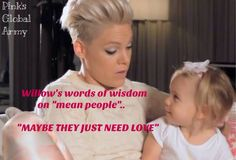 p!nk and willow 2014  Willow P!nk