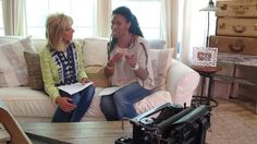 Priscilla Shirer and Beth Moore talk Gideon Bible Study by Going Beyond