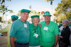 Emmanuel College Alumni St. Patrick's Event   Naples, FL   3.15.14 - Bill Henderson, Jean McMullin and Fran Yafrate