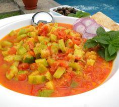 Stewed Zucchini and Tomatoes(Koussa Wbanadoura) image 1 More