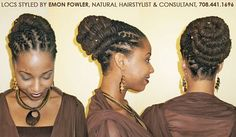 locd peopl, locd life, loc hairstyl, black hair, natur style
