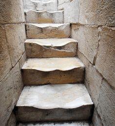 Torre De Pisa, Escaleras