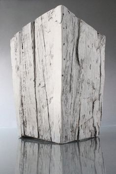 Green Concrete cast planter. Made in PA.