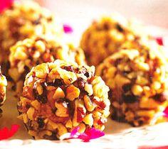 Walnut Date Burfi Recipe