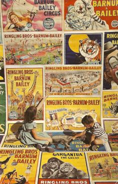 Art - Ringling Brothers and Barnum Bailey Circus Posters