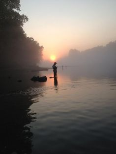 @tmiller524- Took this picture fly fishing in Branson, MO this weekend. @TODAY #TODAYSunrise