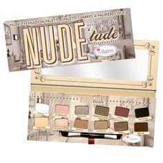 theBalm® cosmetics NUDE 'tude™ Nude Eyeshadow Palette , $36.00