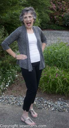 Drape Front Cardigan Knitting Pattern | Red Heart