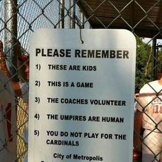 Youth Football rules to remember...