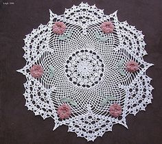 Ravelry: The Rose Doily pattern by American Thread Company