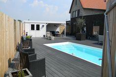 Zwembad swimming pools on pinterest 68 pins - Outdoor decoratie zwembad ...