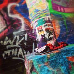 #graffiti #graffitialley #streetart #cambridge #k2yhe #yarnbomb