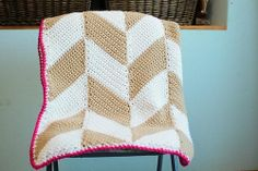Ravelry: Herringbone Blanket pattern by Tara Murray