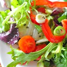 """Italian Leafy Green Salad 