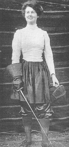 The remarkable Captain Flora Sandes – the only British woman to serve as a front-line soldier in WW1. Hurrah! We need more ladies like her.