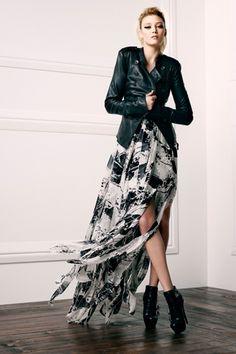 James Leather Jacket. Ashley Dress. Danielle Buckle Bootie