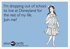 Make it Disney World and I'd be happy!