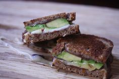 Mexi Grilled Cheese Sandwich with Avocado, Refried Black Beans, and Pepperjack #lunchbox