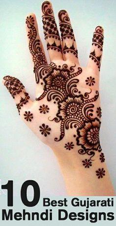 top 10 best gujarati mehndi designs mehendi design pattern mehndi designs henna tattoos art. Black Bedroom Furniture Sets. Home Design Ideas