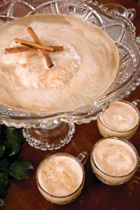 Spiked Eggnog-Coffee Punch