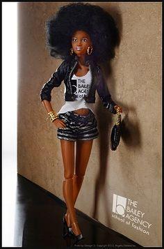 Prettie Girls Cynthia Bailey Signature Doll (Arriving Mid December) Item Id: OWDS13-001-Cynthia