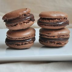 French Chocolate Macarons by Turntable Kitchen