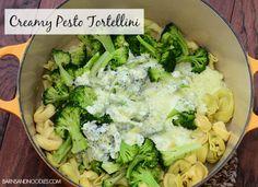 Creamy Pesto Tortellini