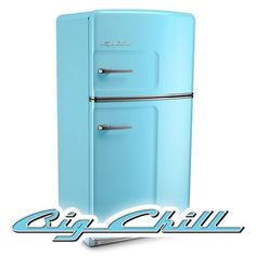 Want a vintage-look fridge? Enter The Great TOH Giveaway! The $728,840 prize pool features an appliance package from @bigchillfridge (ARV $10,015)