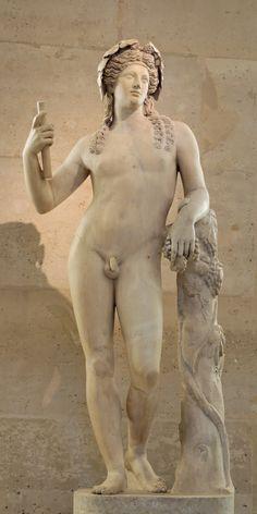 Baco (Dioniso), deus do vinho, era filho de Júpiter e de Semeie. Não representava apenas o poder embriagador do vinho, mas também suas influências benéficas e sociais, de maneira que era tido como o promotor da civilização, legislador e amante da paz.