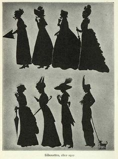 19th C. Silhouettes