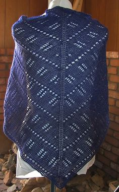 Ravelry: Blocks & Bars Shawl pattern by Carol Price
