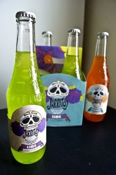 Jarritos Label and Package Design