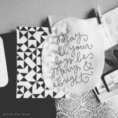 merry + bright | minna may