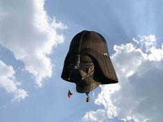 Lord Vader globo aerostatico #starwars