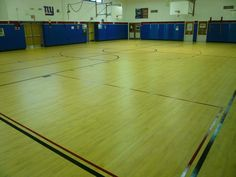 Tarkett Sports Omnisports 6.5 GreenLay installation in Maple Design in Bethpage, NY