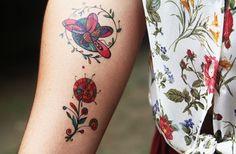 tattoos temporárias lindas, versáteis e indolores – ideais para experimentar no verão e combinar com as fantasias do carnaval