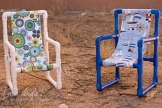 DIY Toddler Chairs {Made out of PVC Pipe