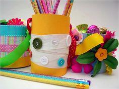 Spring Baskets, Easter Crafts For Kids