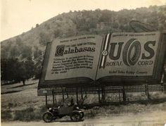 Calabasas Billboard 1917