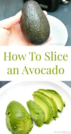 How to slice an avocado in minutes! Find this and many more tips and tricks at mom4real.com