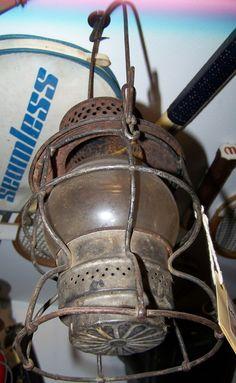 Antique Railroad Lantern Edit item   Reserve item   $185.00