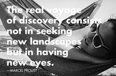 Discovery by Proust via @Moon Travel Guides