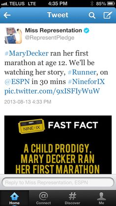 Mary Decker!
